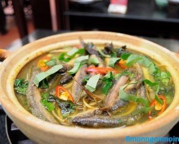 cách làm cá chạch nấu hoa chuối cho bữa ăn thêm ấm cúng