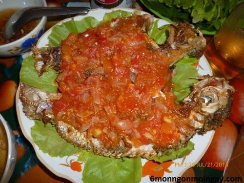 cách làm cá rô phi sốt cà chua cho cả nhà thưởng thức