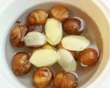 cách làm chè hạt dẻ nấu gừng thơm ngon được mọi người ưa thích