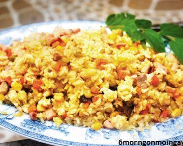 cách làm cơm chiên cua tôm trứng đảm bảo ăn là ghiền