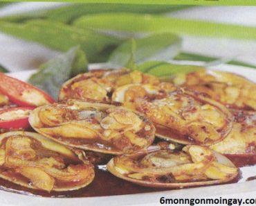 cách làm sò lụa xào sa tế ngon dùng để thưởng thức vào cuối tuần