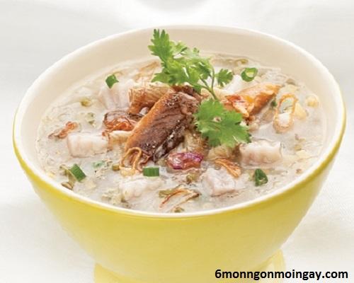 cách nấu cháo lươn đậu xanh khoai môn ngon lạ và không bị tanh