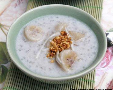 cách nấu chè chuối nước cốt dừa thơm ngon dễ chế biến