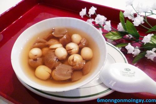 cách nấu chè hạt sen nhãn nhục thơm ngon mát lạnh ngày hè
