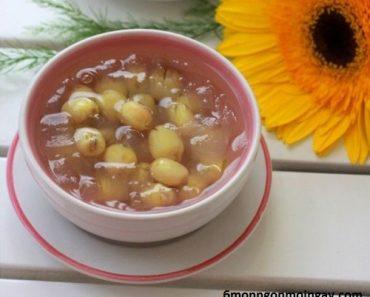 cách nấu chè nha đam hạt sen ngon mát giải nhiệt mùa hè