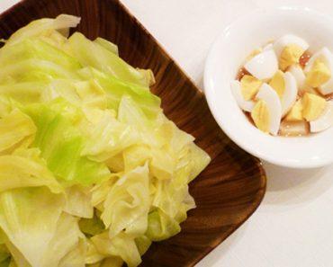 Cách làm bắp cải luộc giòn ngọt cực chuẩn vị