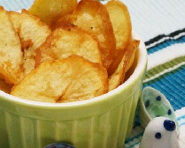 Cách làm bim bim khoai tây phô mai cực thơm ngon