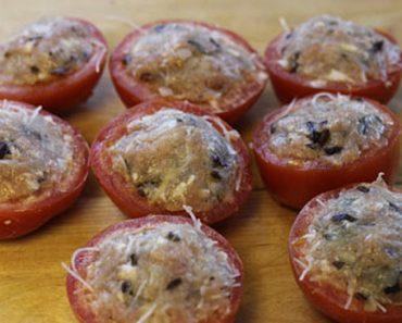 Cách làm cà chua nhồi thịt rất tốt cho sức khỏe
