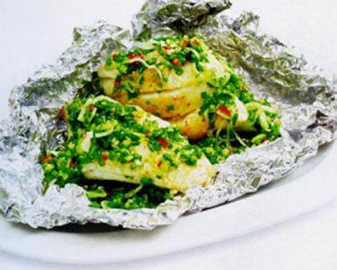 Cách làm cá nướng hẹ thơm ngon ngọt thịt