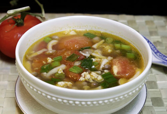 Cách làm canh chua nấu thịt chua thanh mát dịu