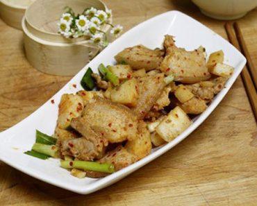 Cách làm củ cải xào thịt đơn giản cho thực đơn ngày đông