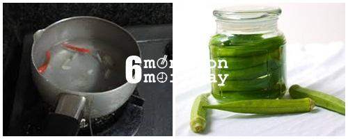 Cách làm đậu bắp ngâm giấm cực ngon cực tốt cho sức khoẻ - hình 4