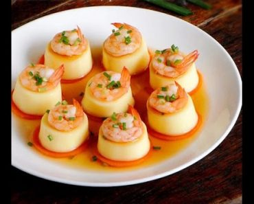 Cách làm đậu hũ hấp tôm thơm ngon dinh dưỡng