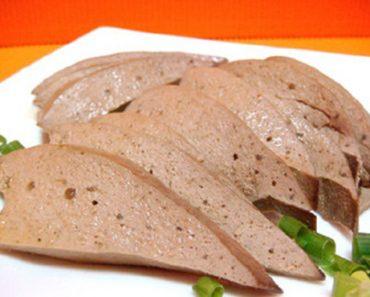 Cách làm gan lợn hầm cà rốt và hà thủ ô siêu ngon cho ngày hè