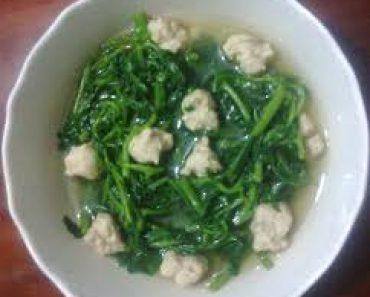 Cách làm món canh cải xoong nấu thịt thơm ngon hấp dẫn