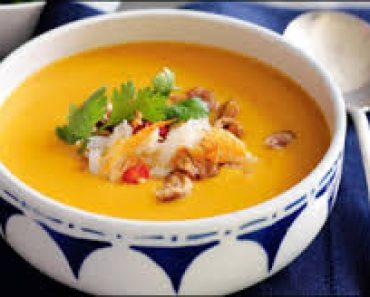 Cách làm món súp bí đỏ thịt gà ngon bổ hấp dẫn