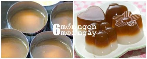 Cách làm món thạch rau câu cà phê cực lạ mắt - hình 4