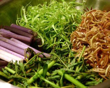 Cách làm nộm ngó sen rau muống ngon bổ cực rẻ