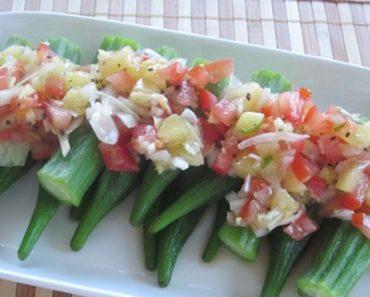 Cách làm salad đậu bắp thơm ngon đơn giản mà hấp dẫn