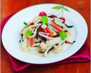 Cách làm salad nấm kim châm cho bạn muốn ăn mãi