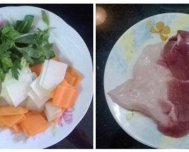 Cách làm su hào cà rốt xào thịt lợn thơm ngon và tiết kiệm thời gian