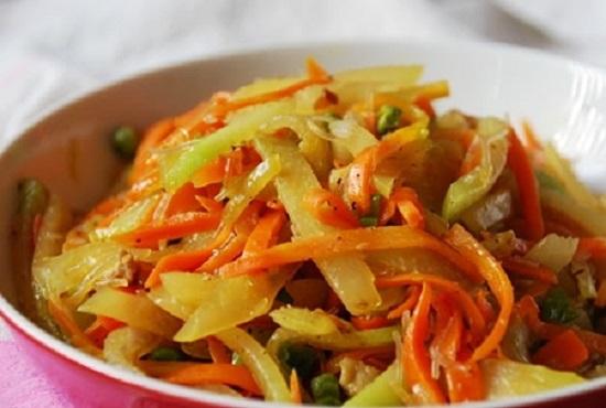 Cách làm su su và cà rốt xào thịt đơn giản cực hấp dẫn