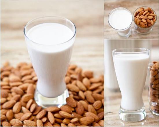 Cách làm sữa đậu nành hạnh nhân thanh mát béo ngậy