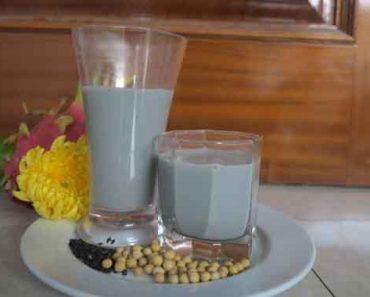 Cách làm sữa đậu nành mè đen thơm ngon mê ly