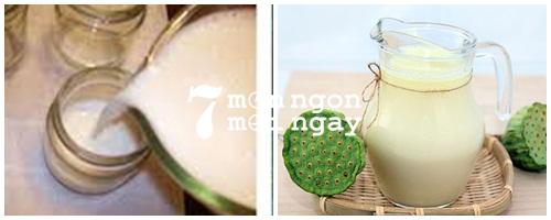 Cách làm sữa hạt sen vừa ngon vừa tốt cho sức khỏe - hình 4