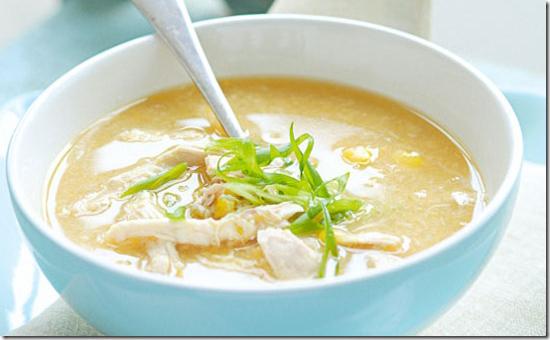 Cách làm súp gà khoai lang đậu xanh thơm ngon cực đậm vị