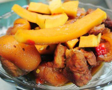 Cách làm thịt ba chỉ ram dừa nước vị ngon ngọt đậm đà