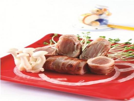 Cách làm thịt ba rọi xông khói cuốn cá tuna sự kết hợp ngọt ngào chuẩn vị