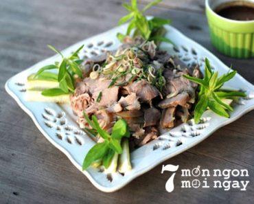 Cách làm thịt bê hấp sả càng ăn càng mê - hình 1
