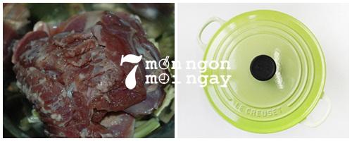 Cách làm thịt bê hấp sả càng ăn càng mê - hình 3