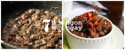 Cách làm thịt kho mắm ruốc đậm đà hương vị Việt Nam - hình 5