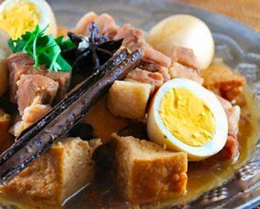 Cách làm thịt kho tàu kiểu Thái cực đậm vị ăn là nghiền