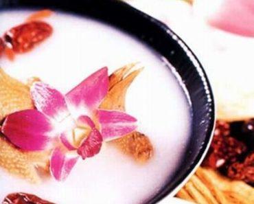 Cách nấu cháo hạnh nhân bách hợp hương thơm cực hấp dẫn