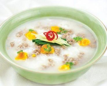 Cách nấu cháo hoa bạch lan đơn giản mà cực ngon