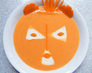 Cách nấu súp cà rốt phô mai vị ngon ngọt béo ngậy cho bé yêu