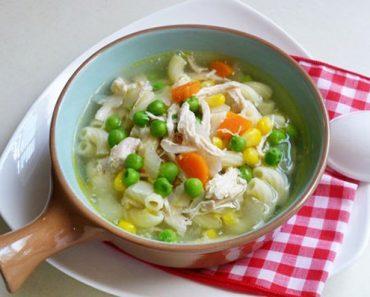Cách nấu súp đậu ngự cà rốt và thịt gà ngon mê ly
