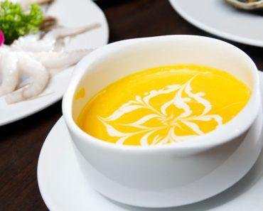 Cách nấu súp kem bí đỏ cá hồi béo ngậy cực bổ dưỡng