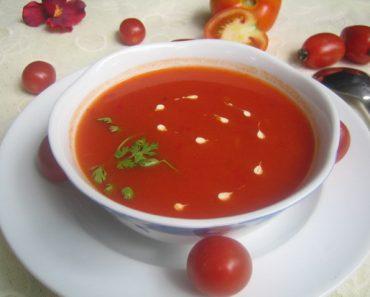 Cách nấu súp kem cà chua sắc đỏ cực hấp dẫn