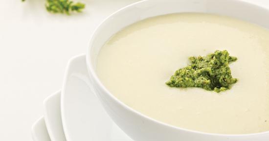 Cách nấu súp khoai tây phô mai bùi bùi cực hấp dẫn