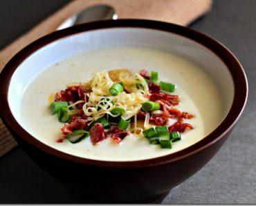 Cách nấu súp khoai tây thịt xông khói ngon tuyệt đỉnh