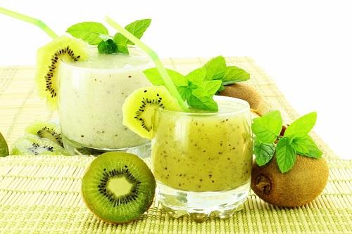 sinh tố kiwi
