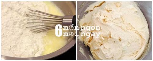 Cách làm bánh su kem cực ngon mà không cần lò nướng - hình 2