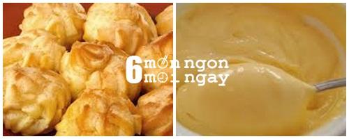 Cách làm bánh su kem cực ngon mà không cần lò nướng - hình 5