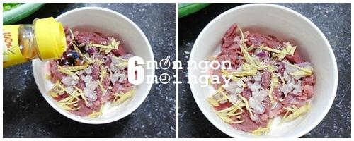 Cách làm món thiên lý xào thịt bò thơm ngon bổ dưỡng - hình 3