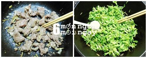Cách làm món thiên lý xào thịt bò thơm ngon bổ dưỡng - hình 4