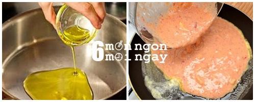 Cách làm món trứng chiên trái cây thơm ngon lạ miệng - hình 5